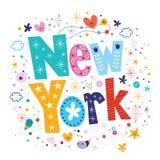 New York stock illustration