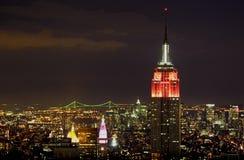 New York del centro Immagine Stock Libera da Diritti