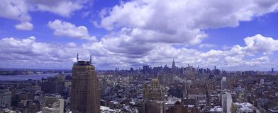 New York del centro fotografia stock libera da diritti