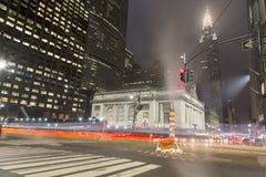 New York den 42nd gatan Arkivbilder