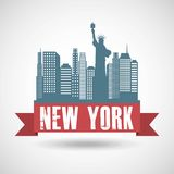 New york design Royalty Free Stock Images