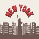 New york design Stock Photography