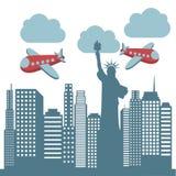 New york design Royalty Free Stock Photo