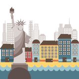 New york design Stock Photography