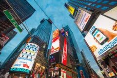 New York - 22. Dezember 2013 Stockbild