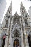 New York domkyrka av St Patrick Royaltyfria Bilder