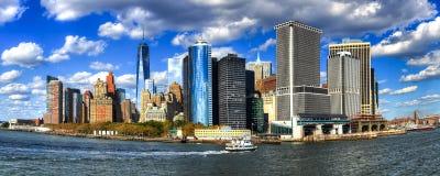 New york downtown viea Stock Photography