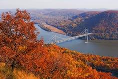 New York draagt bergbrug stock foto