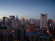 New York at dusk Stock Photography