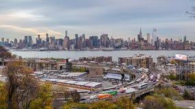 New York e ciclo della strada principale archivi video