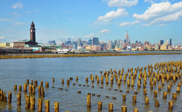New York e Hoboken Foto de Stock