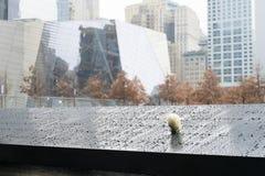 NEW YORK, E.U. - 22 DE NOVEMBRO: Rosa em 9/11 de comme memorável memorável Imagens de Stock Royalty Free