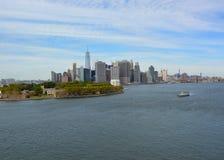 New York East River scenics Stock Photography