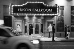New York Edison Hotel stock afbeeldingen