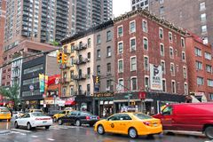 New York, Eight Avenue Royalty Free Stock Images