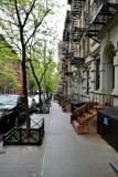 New York an einem regnerischen Tag Stockfotos