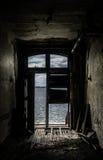 New York Ellis Island Immigrants Desperation immagine stock libera da diritti