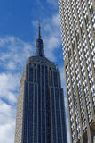 New York 100. Empire state building in new york city Royalty Free Stock Image