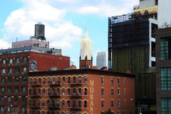 New York, Empire state building, highline royalty free stock photos