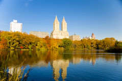 New York en automne Images stock