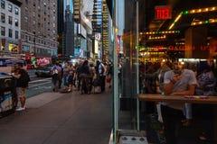 New York en Newyorkers royalty-vrije stock foto