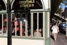 New York en Newyorkers De straatscène van Manhattan stock afbeelding