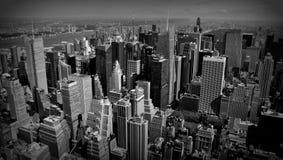 New York en noir et blanc Image libre de droits