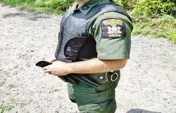New york enviromental concervation officer uniform Stock Images
