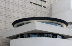 NEW YORK - 1ER SEPTEMBRE : Le Solomon R Musée de Guggenheim de mod Photos libres de droits