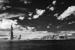 New York et statue de la liberté images stock