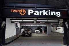 New York, Etats-Unis - 24 mai 2018 : Voitures dans le stationnement d'icône dans Midtow Photo libre de droits