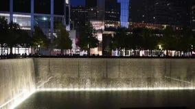 New York, Etats-Unis - 20 octobre 2018 : Nouveau Yorks 9/11 mémorial clips vidéos