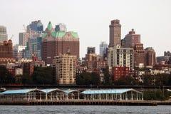 New York, Etats-Unis - 2 septembre 2018 : Vue Brooklyn d'observateurs Brooklyn s'appelle souvent le capital culturel et financier image stock