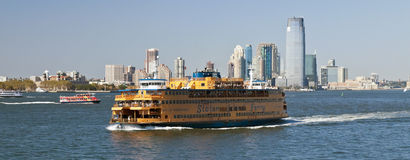 New York, Etats-Unis, Staten Island Ferry Images stock
