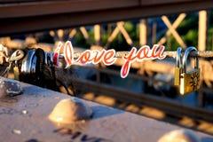 New York, eu te amo! Fotos de Stock Royalty Free