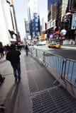 Inclinação do Times Square imagem de stock royalty free