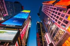 NEW YORK, EUA - 20 DE DEZEMBRO DE 2013 Foto de Stock Royalty Free