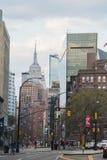 New York, EUA - 29 de abril de 2018: Lower East Side, Manhattan imagem de stock