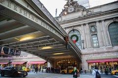 NEW YORK, EUA - 27 DE NOVEMBRO DE 2017: Terminal GCT de Grand Central, Fotos de Stock Royalty Free