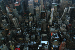 New York evening Royalty Free Stock Photography