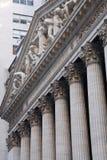 New York Exchange Building Stock Photo