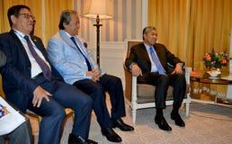 NEW YORK FÖRENTA STATERNA - AUGUSTI 24TH, 2016 Ahmad Zahid Hamidi ställföreträdande Prime Minister av Malaysia Arkivfoton