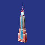 New York famous Empire State Building Royalty Free Stock Photo