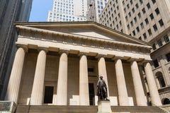 New York Federal hall Memorial George Washingto Stock Photo