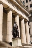 New York Federal hall Memorial George Washingto Stock Image