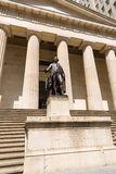New York Federal hall Memorial George Washingto Royalty Free Stock Photo