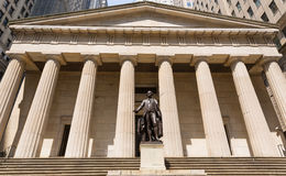 New York Federal hall Memorial George Washingto Stock Images