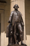 New York Federal hall Memorial George Washington Royalty Free Stock Image