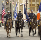 New York 2015 feiern Israel Parade Stockfoto