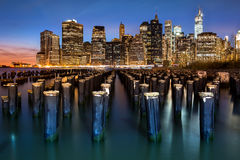 New York Financial District Royalty Free Stock Image